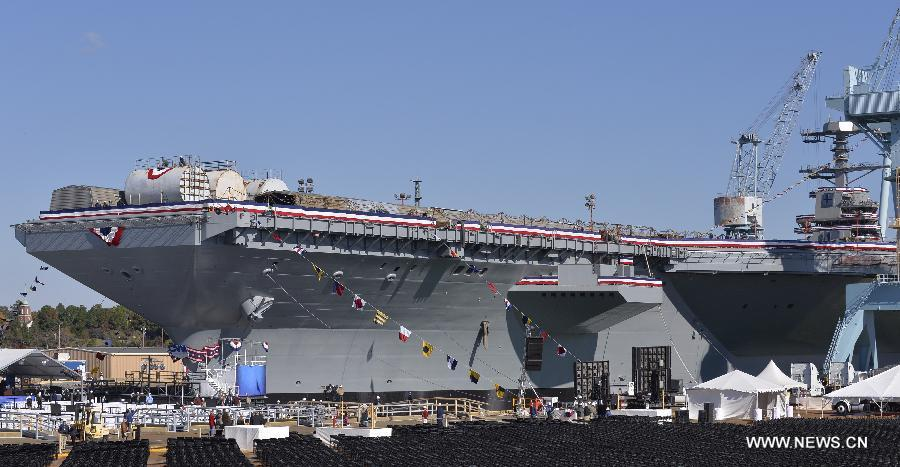 Uss gerald r ford cvn 78 for Porte avions gerald r ford