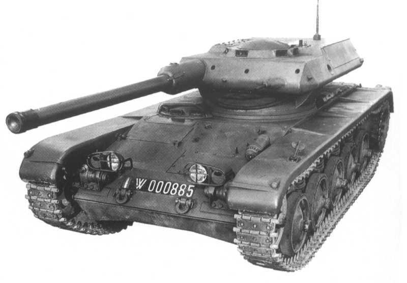 AMX-13 with 90 mm gun   Cold War   Tank armor, Armored ...