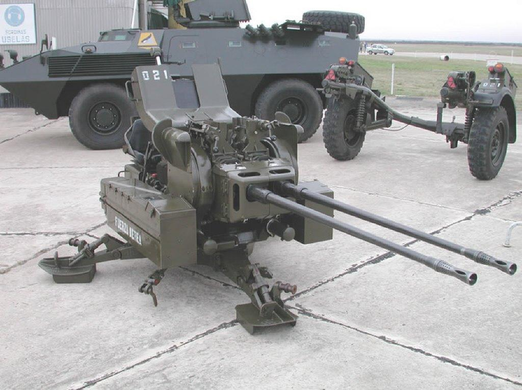 Material de la Fuerza Aérea Argentina