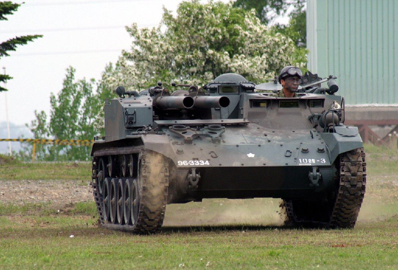 20JGSDF20Type206020self20propelled20106mm20cannon 12