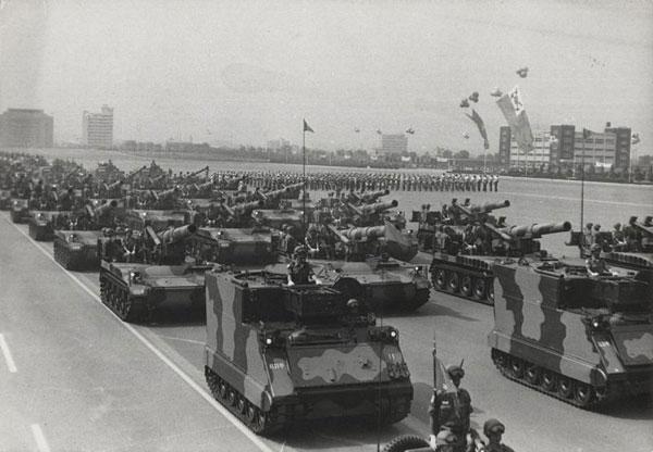 M113은 다양한 개량과 각종 장비 탑재로 변종이 상당히 많다.