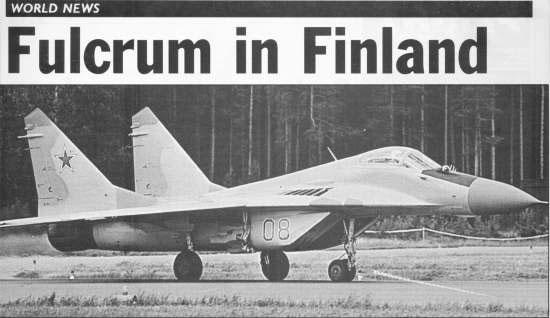 러시아 공군 Swifts 시범 비행대의 MiG-29UB <출처 (cc) Dmitry A. Mottl />