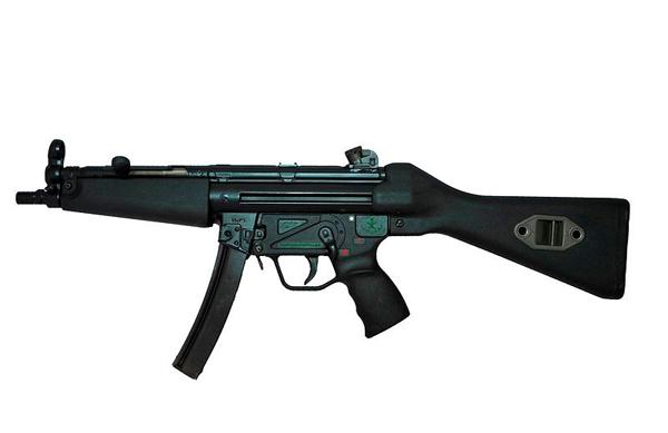 기관단총 역사를 새로 개척한 MP5 <출처 : http://commons.wikimedia.org/>
